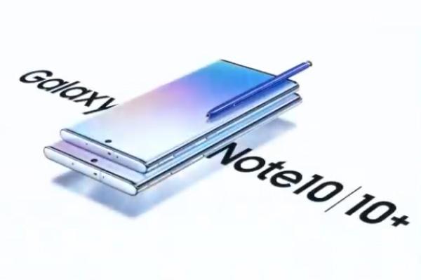 Galaxy Note 10: así fue su presentación oficial