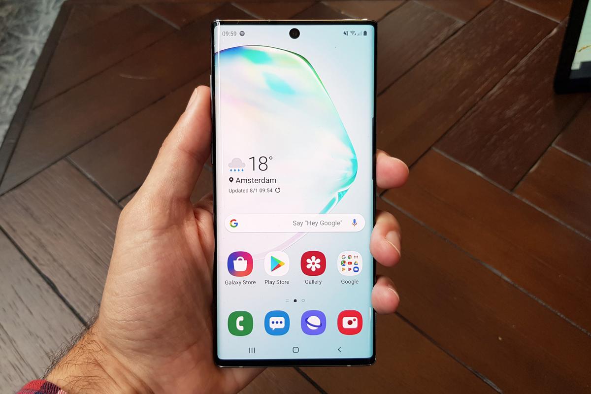 El nuevo Samsung Galaxy Note 10.