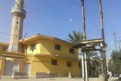 Mezquita Haji Zedan levantada en Tobchi, Bagdad, donde oficiaba el líder del Estado Islámico, imán Bagdadi, antes de convertirse en un sanguinario.