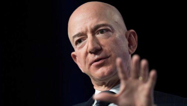 Jeff Bezos, fundador de Amazon y hombre más rico del mundo.