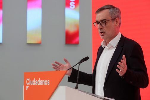 José Manuel Villegas, secretario general de Ciudadanos, en rueda de...