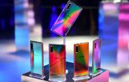 El Galaxy Note10 se presenta en una amplia gama de colores.