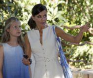 La Reina Letizia y Doña Leonor en Mallorca
