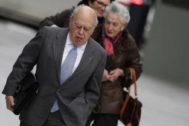 Jordi Pujol y Marta Ferrusola llegan a la Audiencia Nacional en febrero de 2016