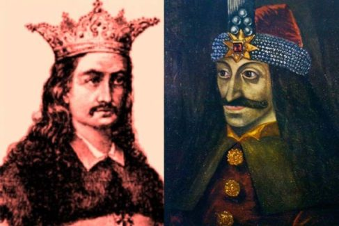 Radu el bello y Vlad Drácula.