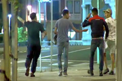 Los cuatro implicados en la violación grupal que siguen en libertad