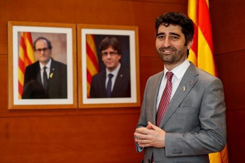 Jordi Puigneró, conseller de Políticas Digitales y Administración...