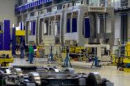 Instalaciones de la empresa CAF en Beasain.