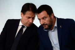Salvini anuncia una moción de censura contra el primer ministro italiano y se postula como candidato