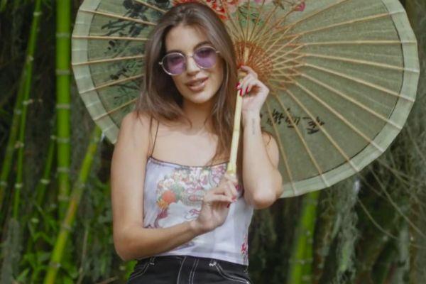 Ana Guerra en el vídeo de Sayonara, su nuevo single con Mike Bahía