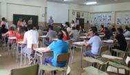 Oposiciones a secundaria en un instituto de Valencia.