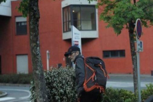 El etarra Josu Ternera, momentos antes de su detención