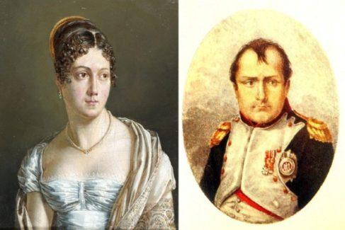 Retrato de madame de Rémusat y de Napoleón Bonaparte