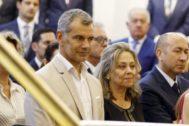 Toni Cantó, el día de la elección de Carlos Mazón (PP) como presidente de la Diputación de Alicante.
