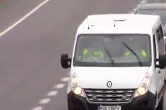 Las furgonetas 'ninja' de la DGT: camufladas para cazar infractores