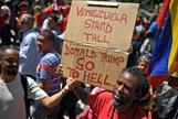 El chavismo agita las redes y las calles contra Trump