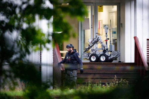 Robot desactivador de bombas