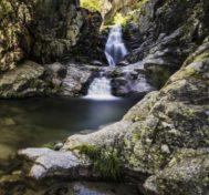 Las cascadas del Purgatorio.