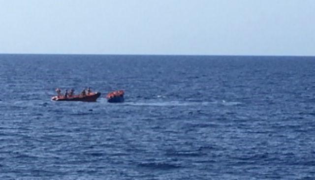 Foto de archivo de una embarcación en aguas baleares.