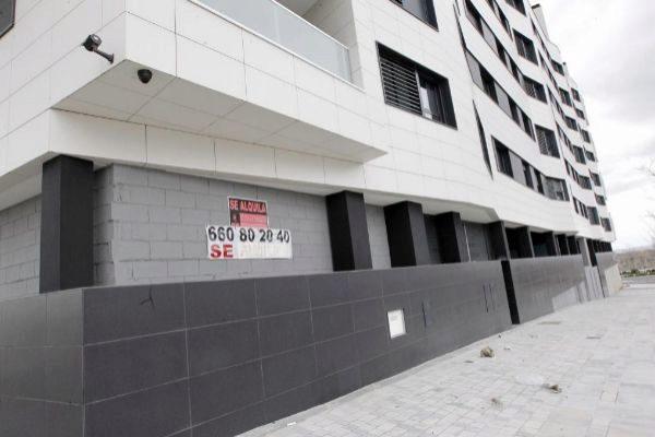 Viviendas en alquiler o venta en el barrio de Valdebebas, en Madrid.