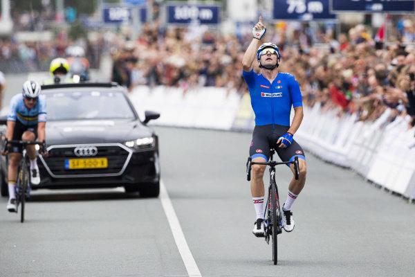 Alkmaar (Netherlands).- Italian cyclist Elia <HIT>Viviani</HIT>...