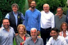 Puigdemont se lleva al 'exilio' de Waterloo su paella de Cadaqués sin Trapero como cocinero