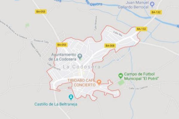 La localidad pacense de La Codosera.