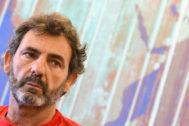 El fundador y director de Proactiva Open Arms Óscar Camps, en rueda de prensa.