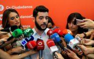 El secretario de Organización de Cs Madrid, César Zafra.