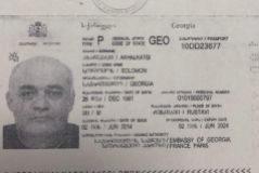 Pasaporte de Solomon Akhalkatsi