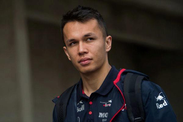 Mogyorod (Hungary).- Thai Formula One driver Alexander...