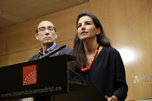 Rocío Monasterio, en una intervención pública la semana pasada en...