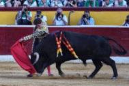 Ginés Marín, solvencia y  puerta grande en Huesca