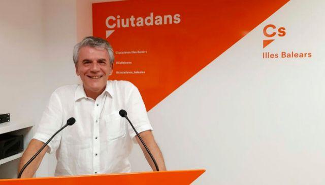 El empresario Juan Antonio Guzmán es el nuevo líder de Ciudadanos en Palma.