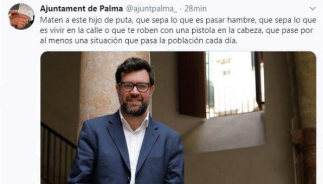 """Hackean la cuenta de Cort para amenazar de muerte a Noguera: """"Pago con bitcoins a quien lo asesine"""""""