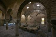 Sala templada de los Baños Árabes de Jaén.