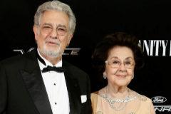 Plácido Domingo y Marta Ornelas