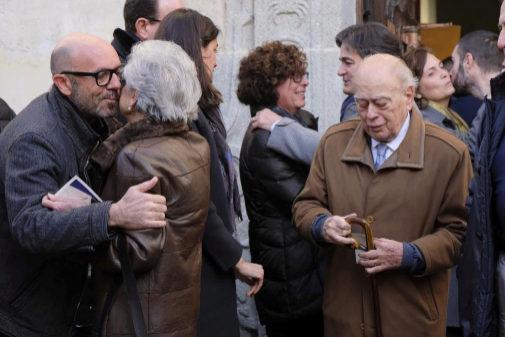 Jordi Pujol, junto a su esposa Marta Ferrusola y su hijo Oriol