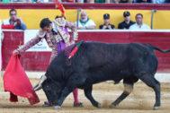 La racha de El Fandi aterriza en Huesca
