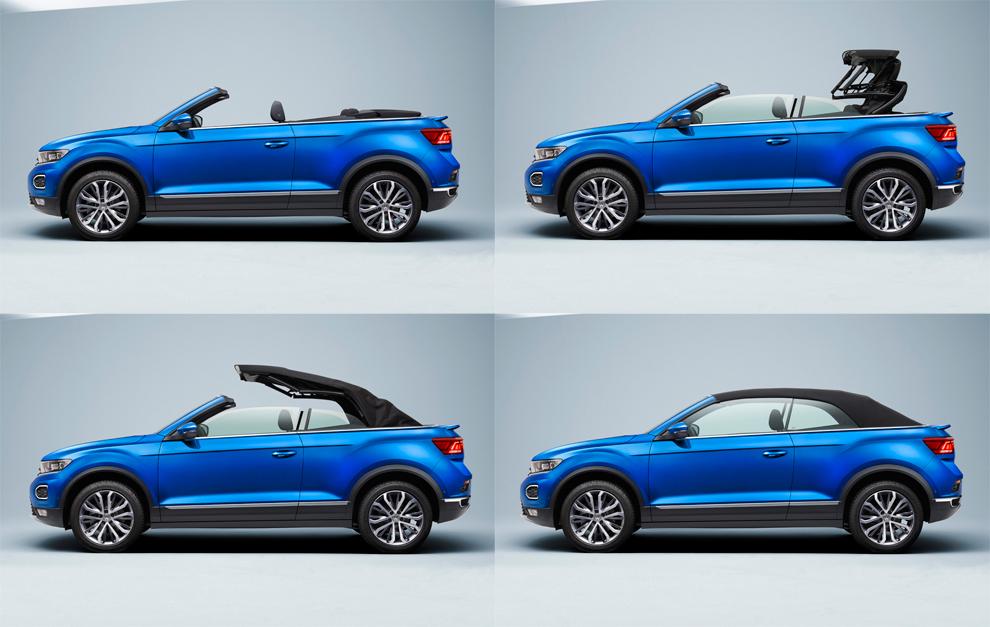 Volkswagen T-Roc Cabrio: el primer SUV descapotable de VW