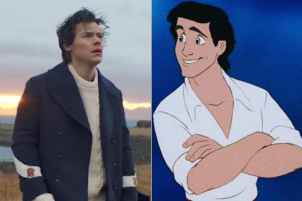 Harry Styles no será Eric en la nueva versión de La Sirenita tras...
