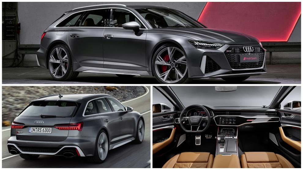 Audi RS6 Avant: así es la nueva berlina familiar deportiva