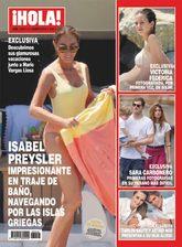 La pareja de Mario Vargas Llosa protagoniza la portada de<em>...