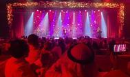 El escenario del Music Hall de Yeda.