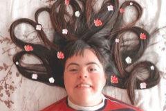 Patri, la joven influencer con Síndrome de Down que conquistó a Lola Indigo