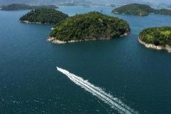 Bahía de Angra dos Reis, en la costa sur de Río de Janeiro.