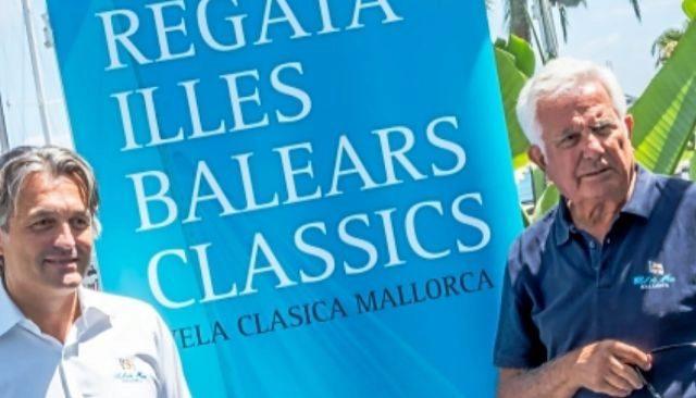 José Luis Arrom y Manuel Nadal, en la presentación de la regata.