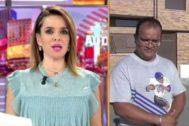 Carme Chaparro discute con un okupa en Cuatro al día