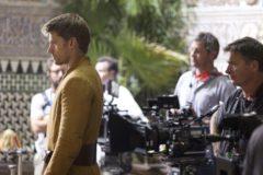 """Imagen facilitada por CANAL + del rodaje de la serie de la cadena HBO """"Juego de Tronos"""", en el interior de los Reales Alcázares de Sevilla."""