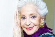La mezzosoprano Teresa Berganza.
